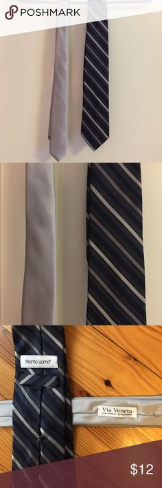 Two Italian silk ties Bought in Italy. Two silk ties. Accessories Ties