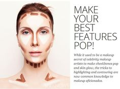 How to highlight and contour like a pro - Make your best features pop!