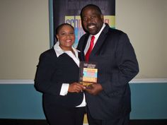 #Schmingling with motivational speaker Les Brown. He says that I have the gift!