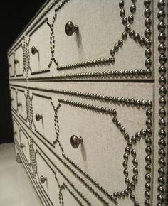 Via The Adventures Of Tartanscot High Point Market Bernhardt Furniture.  Hardwood, Fully Wrapped In Belgian Linen, Antique Nickel Nailheads In A  Classic ...