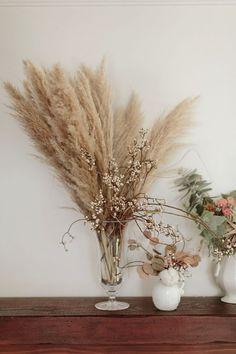 Dried flower arrange