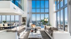 An expansive two-story corner unit at Marquis Residences in downtown Miami just sold for $2 million, making it the priciest residence sold in the area within the last six months.