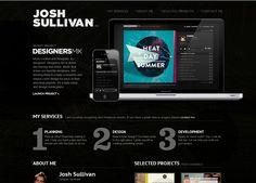 34 Excellent Dark Website Design For Inspiration