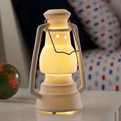 Kids Lantern Nightlight....so cute for a camping themed room