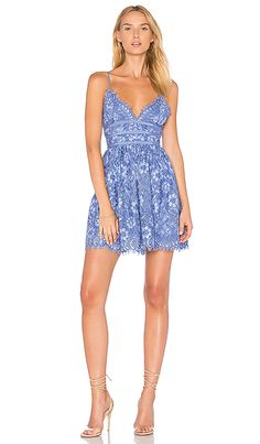 995b00d8ab4c Shop for NBD Give It Up Dress in Chambray Blue at REVOLVE. Free 2-