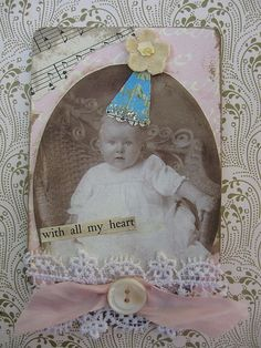 Pay It Forward ATC Swap by Vintage Lily, via Flickr