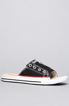 ee4eae510d30df Converse The Chuck Taylor All Star Cut Away Sandal in Black