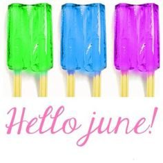 so glad you're back! Days Of Week, Days And Months, Months In A Year, 12 Months, Hello June, Hello Goodbye, Firework Safety, Monthly Quotes, Fluorescent Colors
