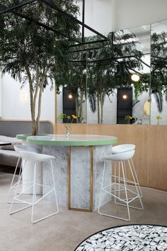 Stella Collective insert a tropical canopy into a Brighton cafe. Restaurant ... & FUJISAKI Restaurant u0026 Bar by Design Clarity Barangaroo / Sydney ...