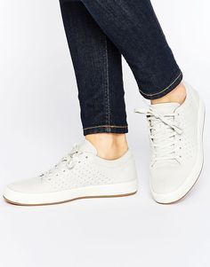 3c4712bdaa8f27 Lacoste Tamora Lace Up 1 Leather Trainers at asos.com