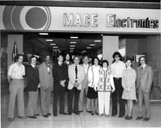 Opening of Mace Electronics at the Millcreek Mall (1975)