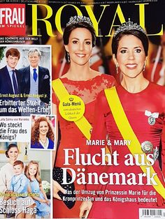 2019: Mary und Marie von Dänemark Adele, Royals Today, Ernst August, Movie Posters, Movies, Denmark, Moving Home, Magazines, Princess