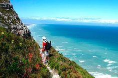 Hiking at Muizenberg provides beautiful views of False Bay - Cape Town. Pool Water Slide, Water Slides, Cape Town Accommodation, Urban Village, Soul Surfer, Treasure Coast, Learn To Surf, Wakeboarding, Amazing Adventures