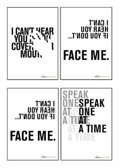 Deaf Awareness Posters