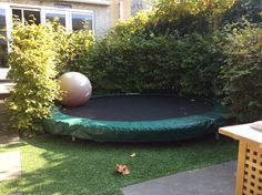 Trampolines are guaranteed to provide your family hours and hours of fun, what a great way to keep active, fun for all the family. Garden Trampoline, Backyard Trampoline, Backyard Toys, Backyard Playground, Tiny Garden Ideas, Home And Garden, Trampoline Reviews, Professional Trampoline, Outdoor Spaces