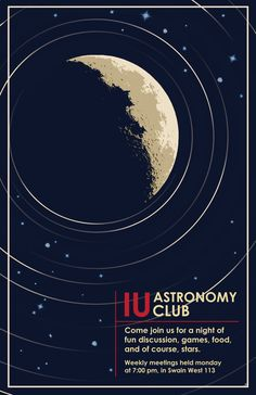 IU astronomy club poster by on DeviantArt