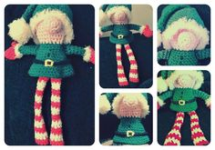 Looking for your next project? You're going to love Crochet Elf Pattern by designer wide_eyed_mummy.