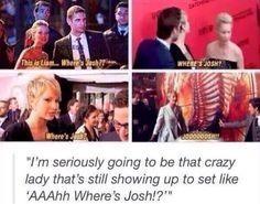 lol Jennifer Lawrence and Josh Hutcherson