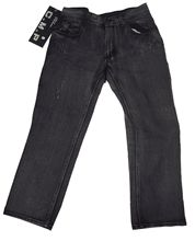 Black Faded Wash Jeans for Boys