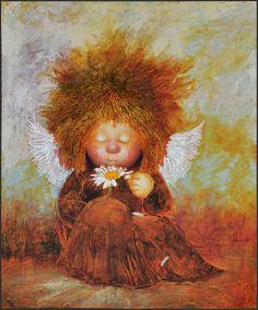 Ангел-с-цветком.Х.м.40х50.2011-960.jpg (795×960)