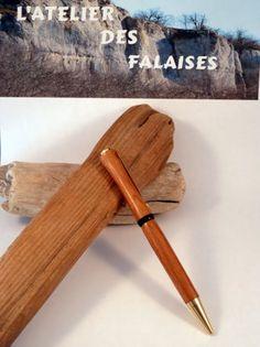 stylo en bois de rose