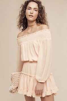 Cilla Off-The-Shoulder Dress