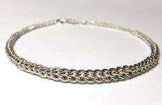 graduated Persian chain, Sterling Silver