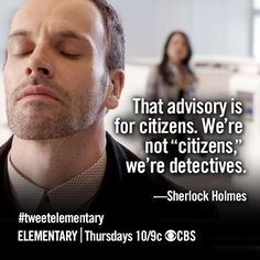 "Elementary.  We are not ""citizens."""