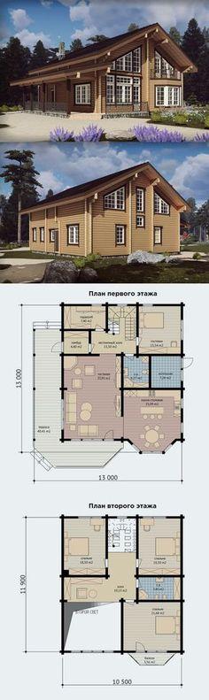 Проект дома из клееного бруса - Арнеево-Речма.