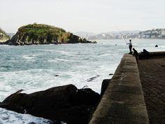 San Sebastian Isla Peine del Viento Guipuzcoa