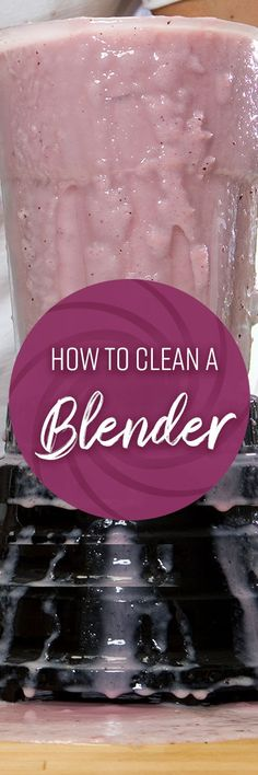 We love our smoothies, but cleaning a blender can be an unappealing task. The small components and bulky carafe can be unwieldy, while the sharp blades can be a challenge to clean. Bbq Grill Cleaner, Kitchen Hacks, Kitchen Cleaning, Clean Grill, Carafe, Healthy Drinks, Homemaking, Cleaning Hacks, Making Ideas