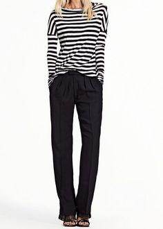 Minimal + Classic: Dressing up stripes