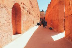 Arabian Adventures - Exploring El Badi Palace Ruins, Morocco in Africa, Marrakesh, Morocco | Travel | Hand Luggage Only