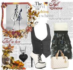"""""""Falling For Fashion"""" by millobear on Polyvore"""