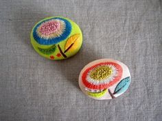 embroidery brooches