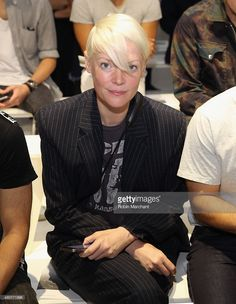 Kate Lanphear attends the John Elliott + CO Show during New York Fashion Week: Men's S/S 2016 at Skylight Clarkson Sq on July 15, 2015 in New York City.