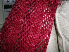 Ravelry: Foreign Correspondent's Scarf pattern by Lexy Lu
