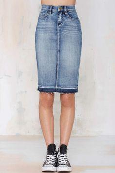 NYC Cry Baby Denim Skirt. Fashion ...