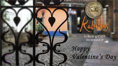 Happy Valentine's Day  #kabirosbogota #tallerdeforjayfundicion #arte #forja #hierroforjado #art #ironwork #blacksmith #hardware #castboronze #decoracion #herrajes #Valentine