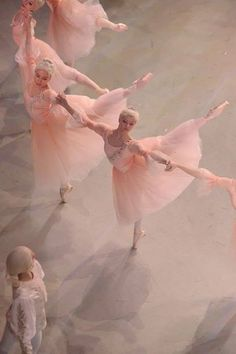 The Phantom's Domain The ballet girls are pretty in pink!--Madame Giry