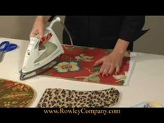 (16) Iron-On Batting - YouTube Quilt Batting, Easy Video, Slipcovers, Iron, Quilts, Sewing, Videos, Youtube, Cases