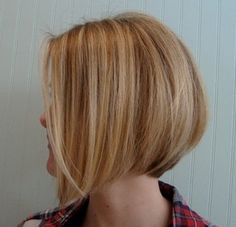 Side View of Graduated Bob Hairstyle - More bob cuts like this: http://hairstylesweekly.com/12-graduated-bob-hairstyles-that-looking-amazing-on-everyone