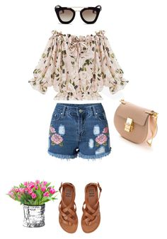 """""""Untitled #1105"""" by giselaturca on Polyvore featuring Prada, Billabong and Chloé"""