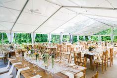 Reception Venue: Jeffery Miller Catering - http://www.stylemepretty.com/portfolio/jeffery-miller-catering Photography: Bartlett Pair Photography - http://www.stylemepretty.com/portfolio/bartlett-pair-photography   Read More on SMP: http://www.stylemepretty.com/2015/08/05/rustic-chic-diy-outdoor-garden-wedding/