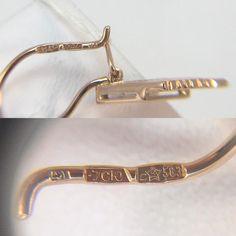 Vintage Original Soviet Russian Rose Gold Earrings 583 14K   Etsy Rose Gold Earrings, Bangles, Bracelets, Cartier Love Bracelet, Photoshop, The Originals, Etsy, Vintage, Jewelry