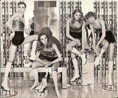 1970's Decter Roller Disco mannequins