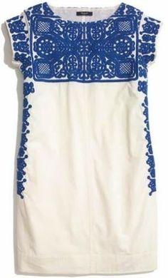 Madewell вышитые CASITA платье от Brandie
