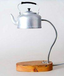 Kettle Table Lamp