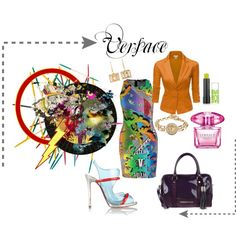 """Versace"" by mizzk850 on Polyvore"