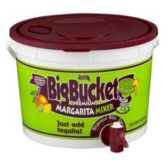 Master Of Mixes Big Bucket Premium Margarita Mixer, 96 Oz  Just Add Tequila and Tripple Sec!